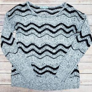 Maurices Chevron Sweater M